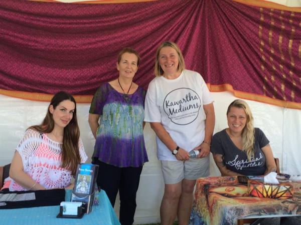 Psychic Readings at Dog Tales Festival